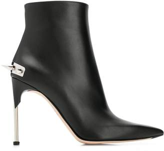 Alexander McQueen punk stud ankle boots