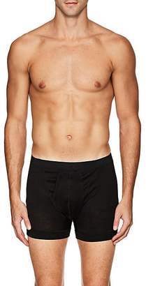 Zimmerli Men's Royal Classic Boxer Briefs - Black