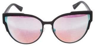 Quay Game On Mirror Sunglasses