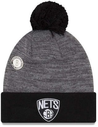 New Era Boston Celtics Pin Pom Knit Hat