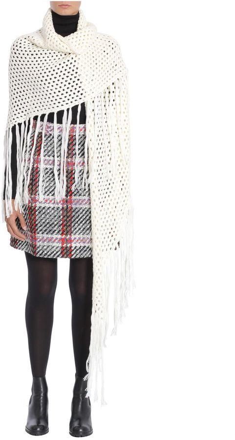 CarvenCrochet Wool Shawl