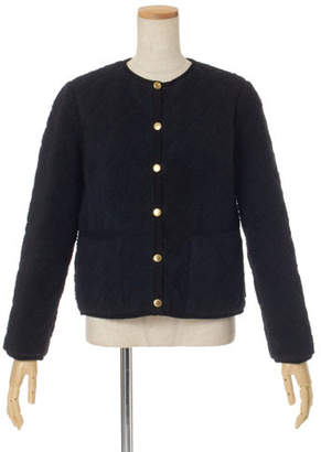 Traditional Weatherwear (トラディショナル ウェザーウェア) - Traditional Weatherwear ノーカラーボアジャケット「アークリー」