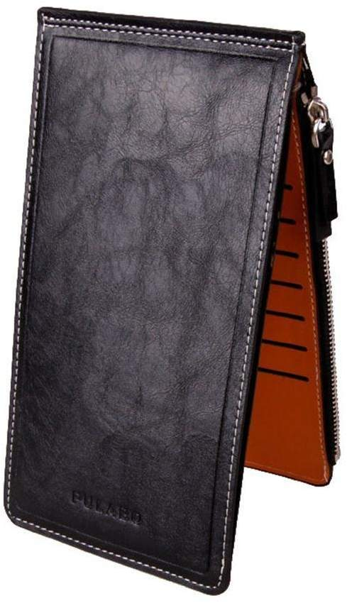 ABC® 1099 ABC® Fashion Women Men Wallet Leather Purse Ultra-thin Multifunctional Wallet