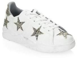 Chiara Ferragni Star Leather Low-Top Sneaker
