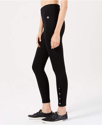 Calvin Klein High-Waist Side-Snap Leggings