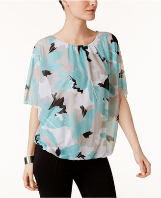 Alfani Printed Blouson Top, Only at Macy's $69.50 thestylecure.com