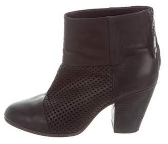 Rag & Bone Perforated Newbury Ankle Boots