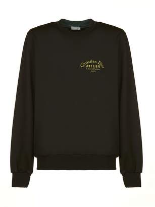 Christian Dior Logo Embroidered Sweater