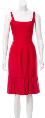 Valentino Wool & Silk-Blend Mermaid Dress w/ Tags