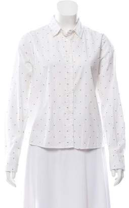 Band Of Outsiders Long Sleeve Button-Up Top w/ Tags