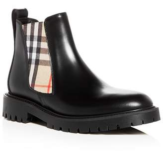 Burberry Women's Allostock Leather Booties