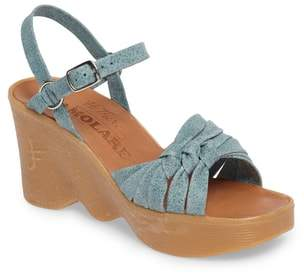 Famolare Knot So Fast Wedge Sandal