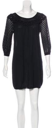 Rebecca Taylor Knit Mini Dress