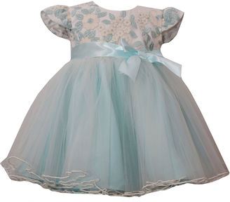 Bonnie Jean short sleeve embroidered bodice ballerina dress - Baby Girls $56 thestylecure.com