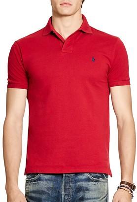 Polo Ralph Lauren Cotton Mesh Classic Fit Polo Shirt $85 thestylecure.com
