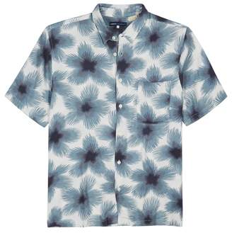 Levi's Safari Blue Printed Shirt