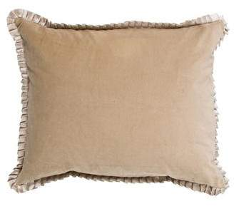Ann Gish Velvet Throw Pillow