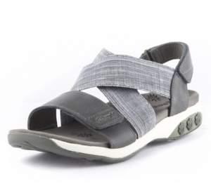 Therafit Shoe Jessica Leather Adjustable Cross Strap Sandal Women's Shoes
