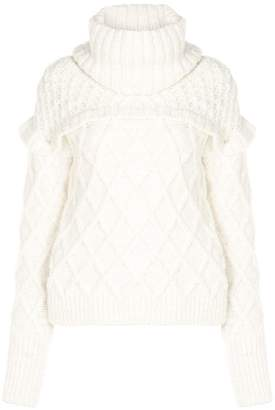 Philosophy di Lorenzo Serafini turtle neck knit jumper