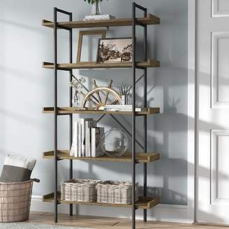 Gracie Oaks Brianna Standard Bookcase