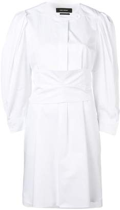Isabel Marant band collar smock dress