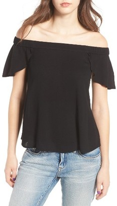 Women's Bp. Off The Shoulder Top $45 thestylecure.com