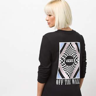 Blotter Long Sleeve Boyfriend T-Shirt