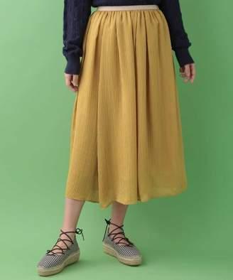 Jocomomola (ホコモモラ) - Jocomomola 楊柳ドビーギャザーフレアスカート