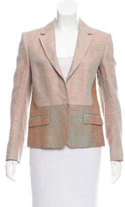 Reed Krakoff Notch-Lapel Woven Blazer