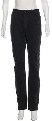 Stampd Mid-Rise Straight-Leg Jeans