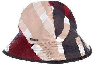 Burberry Exploded Check Bucket Hat