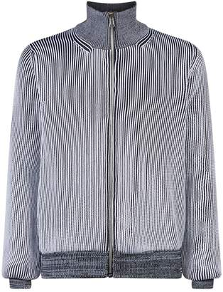 Maison Margiela Zip-Up Cardigan