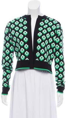 Diane von Furstenberg Wool Cube Cardigan w/ Tags
