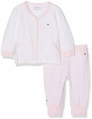 Tommy Hilfiger Baby Girls' Logo 2 Piece Giftbox Clothing Set