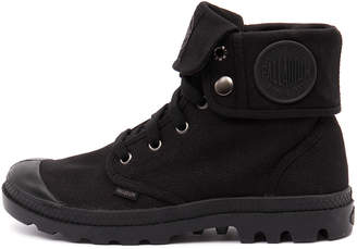 Palladium Baggy w Black Boots Womens Shoes Casual Ankle Boots