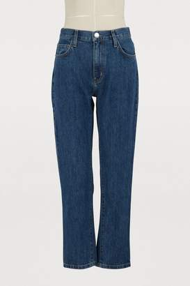 Current/Elliott Current Elliott The Vintage cropped slim jeans