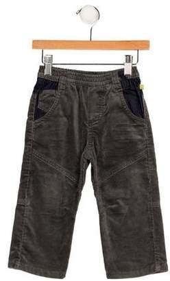 Jean Bourget Boys' Corduroy Flat Front Pants