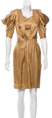 Just Cavalli Scoop Neck Knee-Length Dress