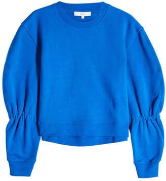 Tibi Sculpted Cotton Sweatshirt