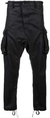 11 By Boris Bidjan Saberi plain cargo pants