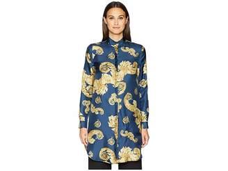 Versace Shirts - Stampa Shirtdress