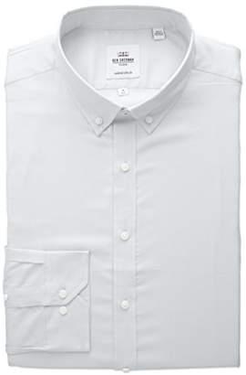 Ben Sherman Men's Slim Fit Oxford Button-Down Collar Dress Shirt