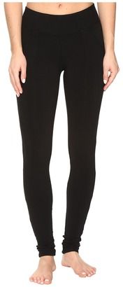 Hard Tail - Slash Pocket Leggings Women's Casual Pants $64 thestylecure.com