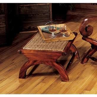 Toscano Design British Plantation Footstool