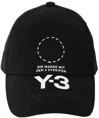 Y-3 Street Embroidered & Printed Hat