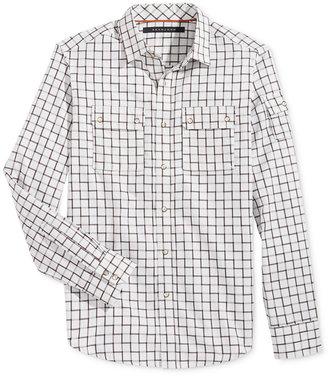 Sean John Men's Big & Tall Ladder Dobby Long-Sleeve Shirt $79.50 thestylecure.com