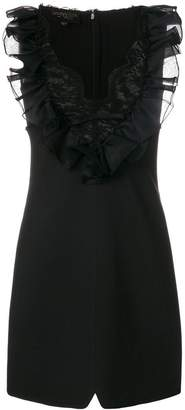 Giambattista Valli dress with ruffle and lace detail