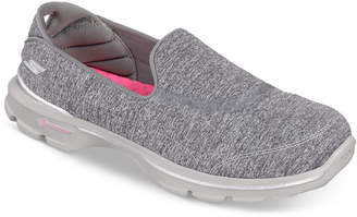 Skechers Women's GOwalk 3 - Balance Walking Sneakers from Finish Line $59.99 thestylecure.com