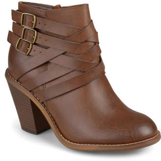 Journee Collection Women Strap Boot Women Shoes