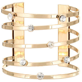 Nina Multi Row Metal Cuff Bracelet
